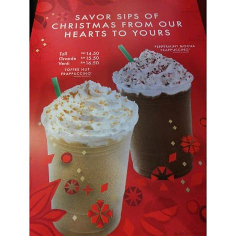 Coffee, tea, refreshers, frappuccinos, iced coffee, via, and bottled coffee. Starbucks Coffee Christmas Menu #mystarbucks #starbucks #c… | Flickr