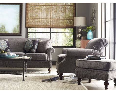 Living Room Furniture Portland by Collier Sofa Chair And Ottoman Thomasville Portland