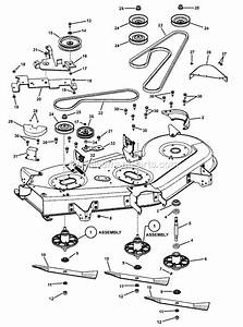 Snapper Lt24520 Parts List And Diagram