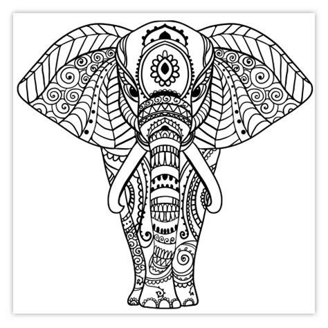 cuisine hindou stickers deco éléphant mandala