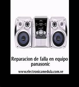 Reparacion De Equipo De Sonido Panasonic Ak-340