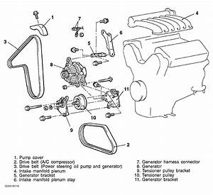 1998 Chrysler Cirrus Serpentine Belt Routing And Timing Belt Diagrams