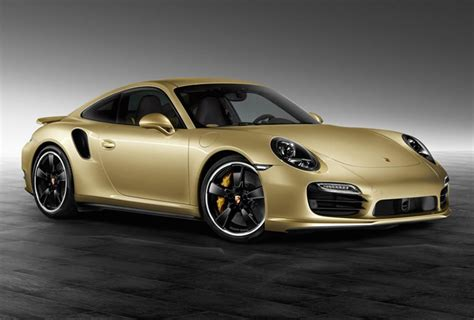 gold porsche truck porsche exclusive unveils one off 911 turbo wrapped in