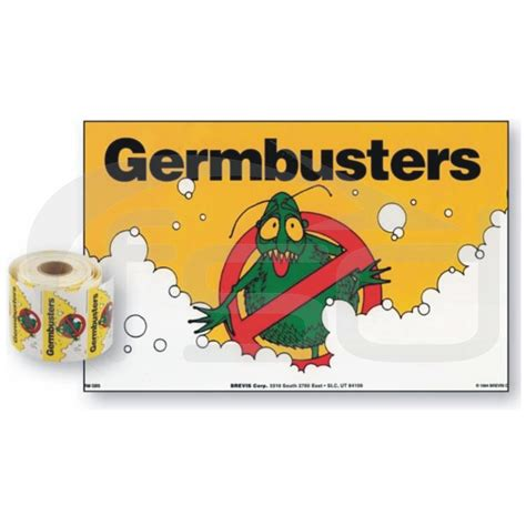 stickers protection cuisine pack of 50 germbusters v2 stickers food safety direct