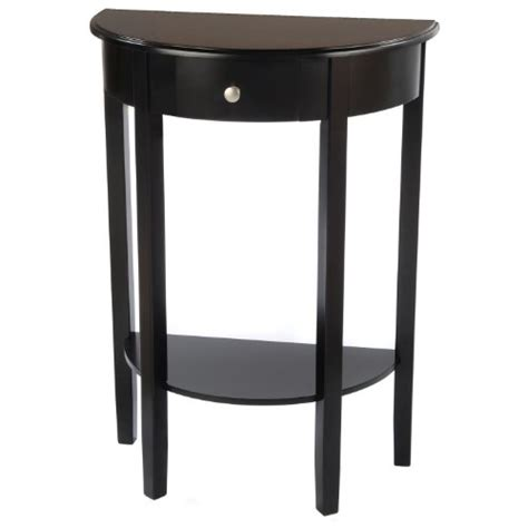 half round hall table bay shore collection half moon round hall table with