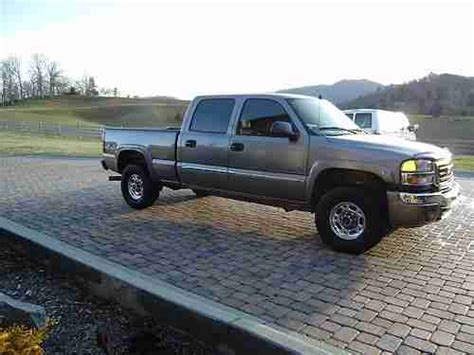 automobile air conditioning service 2006 gmc sierra 2500 lane departure warning find used 2006 gmc sierra crew cab slt 2500 duramax 1