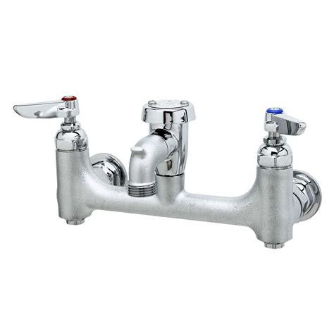 mop sink faucet t s b 0674 cr bstr wall mount chrome service sink