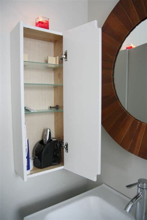Shallow Bathroom Cabinet by House Tweaking
