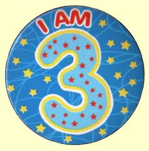 birthday badge blue stars party wizard