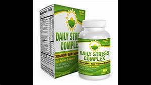 Daily Stress Relief Complex  Supplement  B-vitamins   Herbs