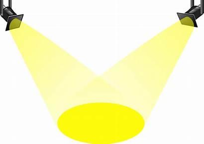 Spotlight Clipart Bright Cliparts Clip Shing Clker