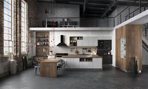 loft cuisine cuisine équipée ouverte esprit loft modèle harmonie