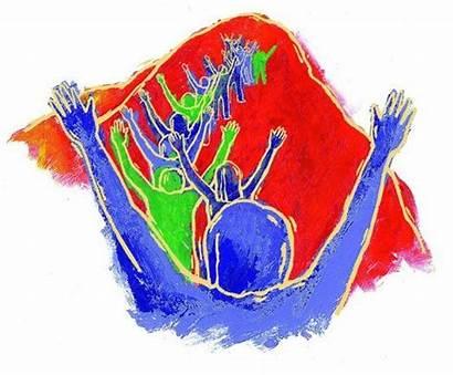 God Praising Praise Clip Clipart Hands Worship