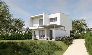 beautiful maison moderne forme cubique ideas bikeparty With beautiful plan de maison cubique 8 maison cubique cube ou carree en ossature bois par votre