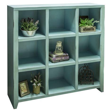Legends Furniture Calistoga 9 Cube Bookcase  Bookcases At