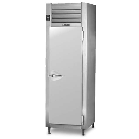 traulsen rht132dut fhs stainless steel 17 7 cu ft one section narrow reach in refrigerator
