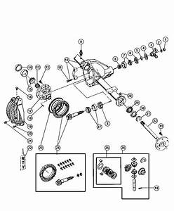Dana 60 Front Axle Parts Diagram
