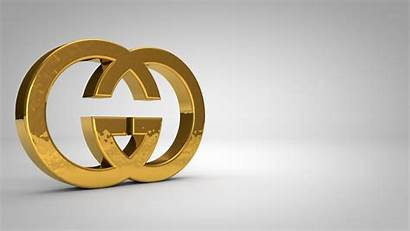 Gucci Gold 3d Abstract Studio Wallpapers Background