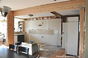 Kitchen Remodel Removing Cabinets And Soffits And Floors