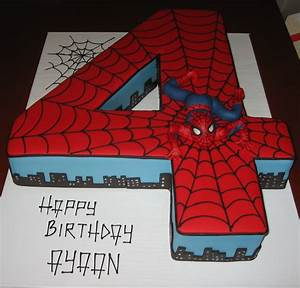 let them eat cake no 4 spiderman cake With spiderman template for cake
