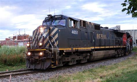 Canadian National Railway CN #4651 GE Dash-9 BB40-9W ...