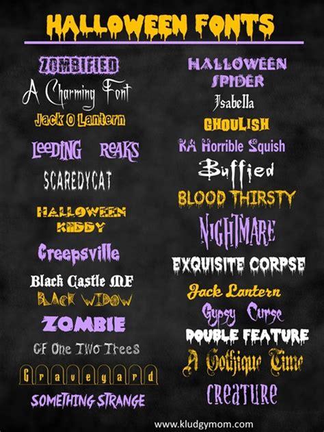 collection    halloween fonts dingbats pinlaviecom