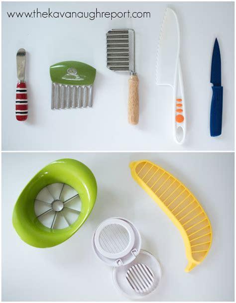 montessori home kitchen tools