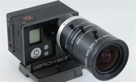 give gopro hero interchangeable lenses