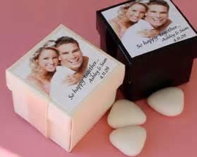 custom wedding gifts personalized photo favor box kit