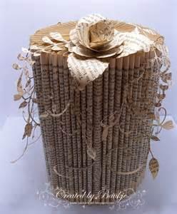 Book Page Folding Craft