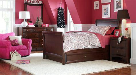 affordable dark wood full bedroom sets girls room