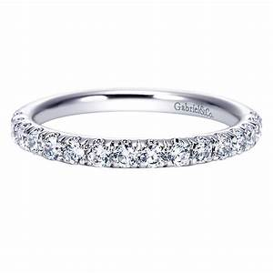 Gabriel Co Engagement Rings 51ctw Anniversary Wedding Band