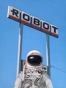 Pop Culture Astronaut Paintings from Scott Listfield ...
