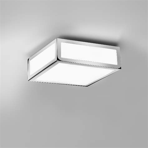 stylish square bathroom light