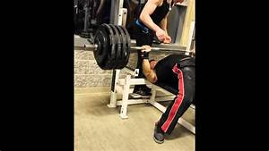 460lb Bench Press   181lbs Body Weight