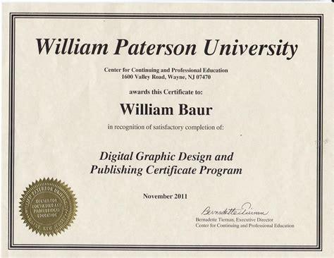 graphic design certificate graphic design certificate programs nj home design ideas