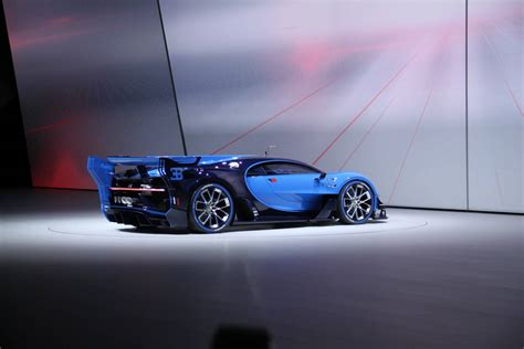 Bugatti just introduced the public at the frankfurt motor show to their brand new concept car called the gran turismo, which is to feature in the upcoming playstation exclusive racing simulator series also… Video: Watch the Bugatti Vision Gran Turismo in Action - GTspirit