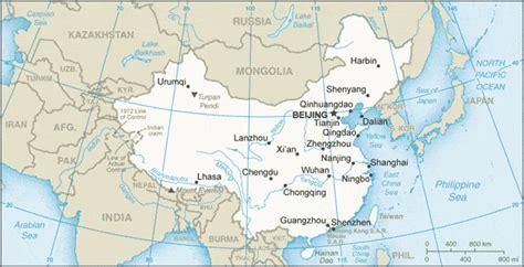 chiny mapa mapy chin travelin