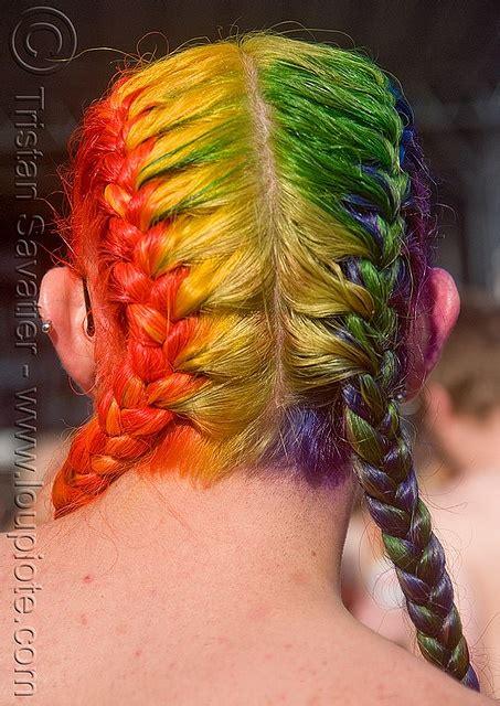 Dsc09215 Rainbow Hair Braid Hair And Braids Braided