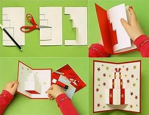 Pop Up Weihnachtskarten : pop up karte mit geschenkmotiv selber basteln karten basteln karten weihnachten und ~ Frokenaadalensverden.com Haus und Dekorationen