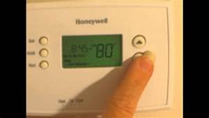 Honeywell Thermostat Model Rth2300b Manual