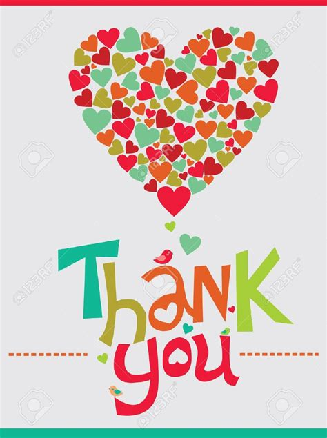design the you sle thank you card designs stock vector best