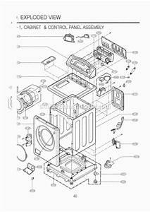 Lg Wm2032hw Parts List And Diagram   Ereplacementparts Com