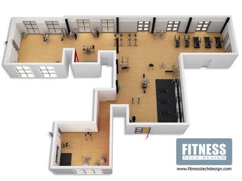3D Gym Design & 3D Fitness Layout Portfolio | Fitness Tech ...