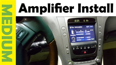 install amplifier subwoofer   car simple