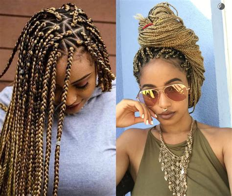 spectacular long box braids hairstyles  andybest tv