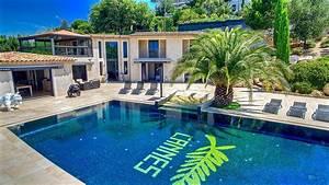 cote d39azur location villa luxe cannes avec piscine vue With location villa avec piscine cote d azur