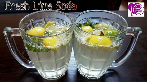 How To Make Sweet And Salty Fresh Lime Soda In 2 Min