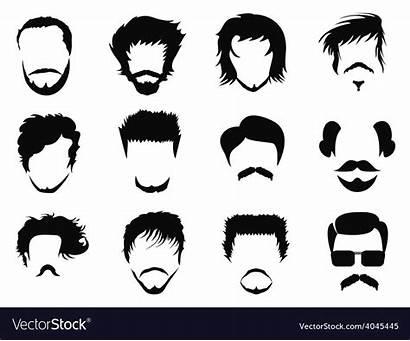 Vector Hairstyle Vectorstock Royalty Vectors