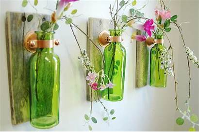 Wall Handmade Decor Decoration Objects Bottles Adorable